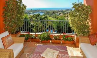 Luxury apartments for sale with gorgeous views over the golf and sea in Marbella - Benahavis 23717