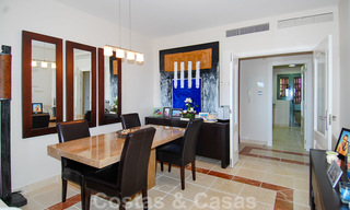 Luxury apartments for sale with gorgeous views over the golf and sea in Marbella - Benahavis 23720