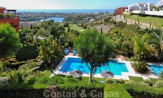 Luxury apartments for sale with gorgeous views over the golf and sea in Marbella - Benahavis 23727