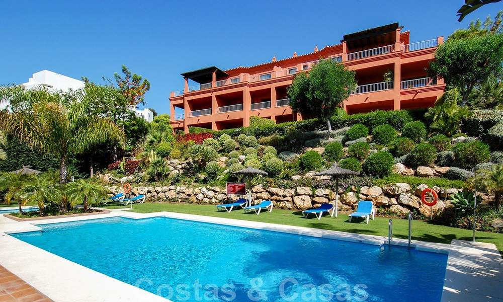 Luxury apartments for sale with gorgeous views over the golf and sea in Marbella - Benahavis 23729