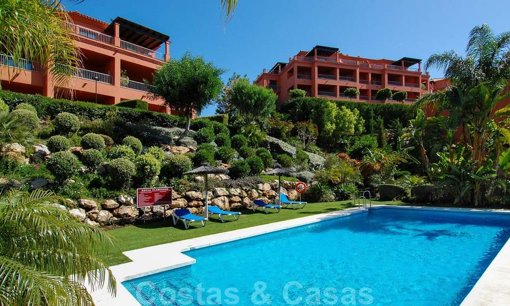Luxury apartments for sale with gorgeous views over the golf and sea in Marbella - Benahavis 23730