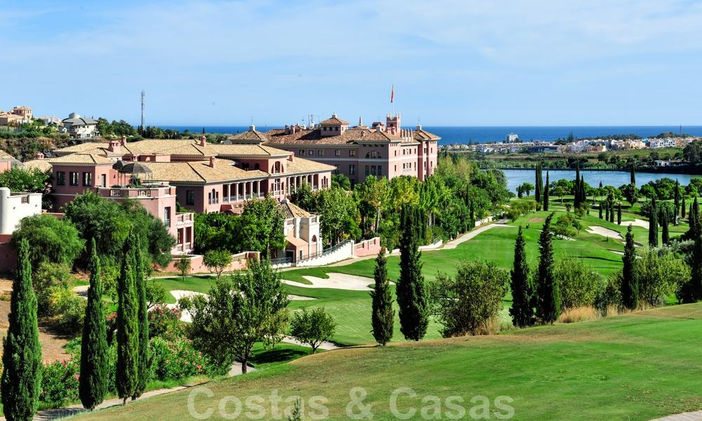 Luxury apartments for sale with gorgeous views over the golf and sea in Marbella - Benahavis 23992