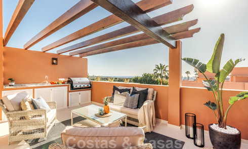 Elegantly renovated townhouse for sale in Aloha, Nueva Andalucia, Marbella 23792