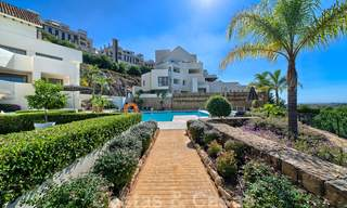 Modern luxury first line golf apartments with stunning golf and sea views for sale in Marbella – Benahavis 24061