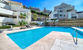 Modern luxury first line golf apartments with stunning golf and sea views for sale in Marbella – Benahavis 24062