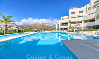 Modern luxury first line golf apartments with stunning golf and sea views for sale in Marbella – Benahavis 24064