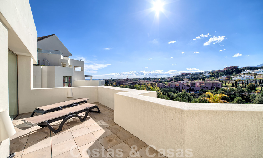 Modern luxury first line golf apartments with stunning golf and sea views for sale in Marbella – Benahavis 24073