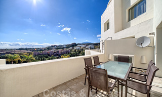 Modern luxury first line golf apartments with stunning golf and sea views for sale in Marbella – Benahavis 24074