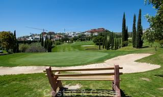 Modern luxury first line golf apartments with stunning golf and sea views for sale in Marbella – Benahavis 24082