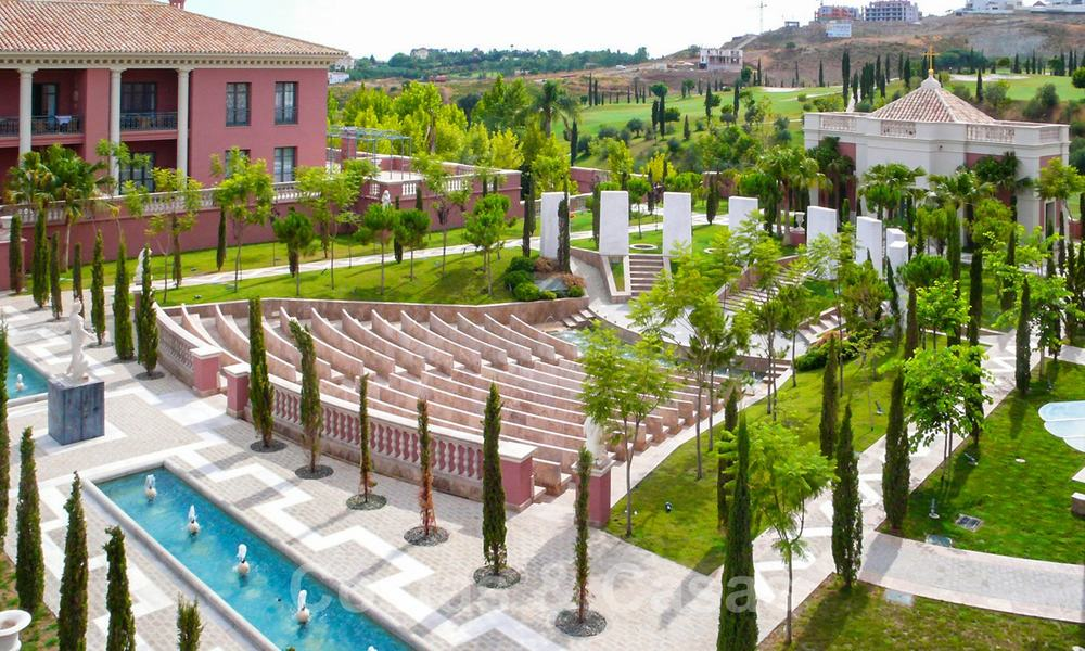 Modern luxury first line golf apartments with stunning golf and sea views for sale in Marbella – Benahavis 24085