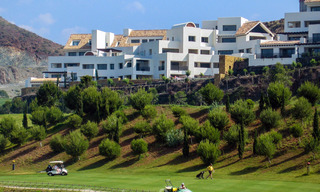 Modern luxury first line golf apartments with stunning golf and sea views for sale in Marbella – Benahavis 24087