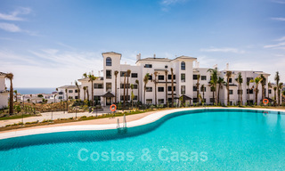 Elegant new modern apartments with panoramic mountain- and sea views for sale in the hills of Estepona 24383