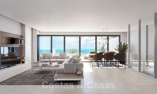 Elegant new modern apartments with panoramic mountain- and sea views for sale in the hills of Estepona 24395