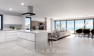 Elegant new modern apartments with panoramic mountain- and sea views for sale in the hills of Estepona 24396