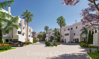 Elegant new modern apartments with panoramic mountain- and sea views for sale in the hills of Estepona 27713