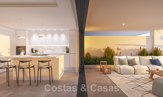 Elegant new modern apartments with panoramic mountain- and sea views for sale in the hills of Estepona 27717