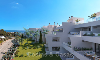 Elegant new modern apartments with panoramic mountain- and sea views for sale in the hills of Estepona 27719