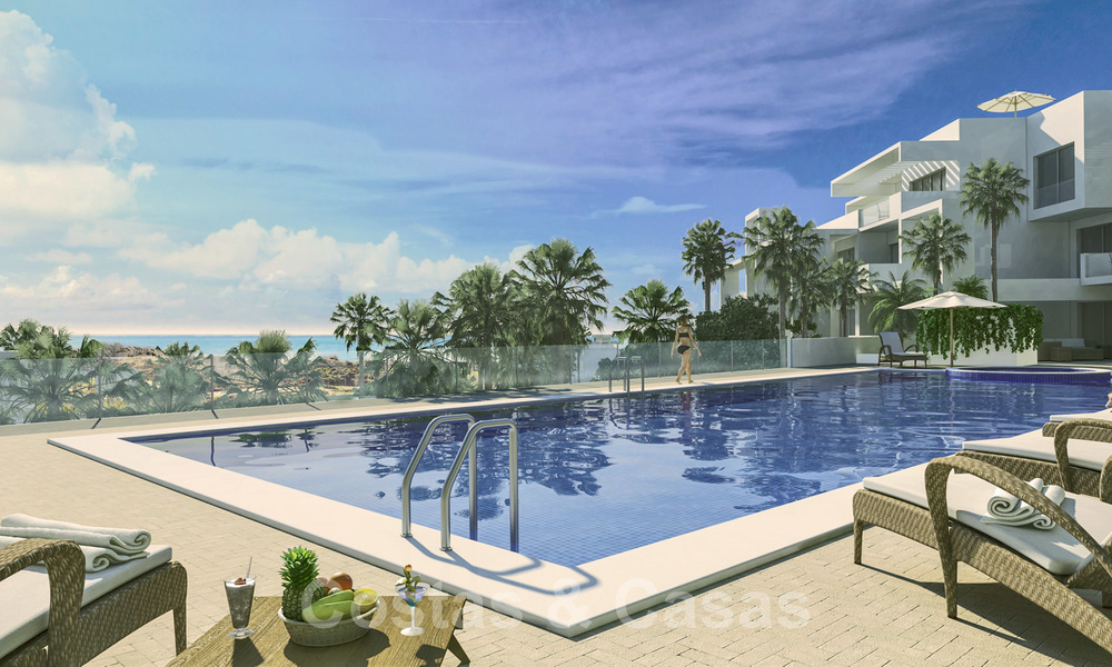 Quality, contemporary design apartments for sale with panoramic sea views in Estepona 24361