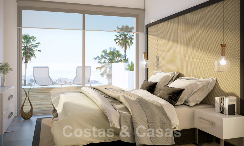Quality, contemporary design apartments for sale with panoramic sea views in Estepona 24365
