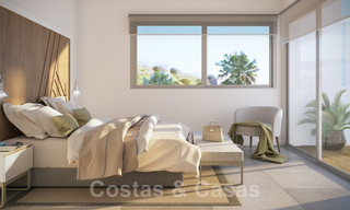 Quality, contemporary design apartments for sale with panoramic sea views in Estepona 24366