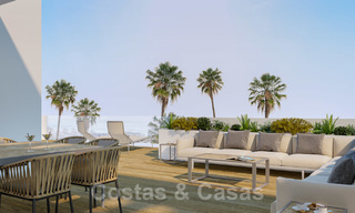 Quality, contemporary design apartments for sale with panoramic sea views in Estepona 24367