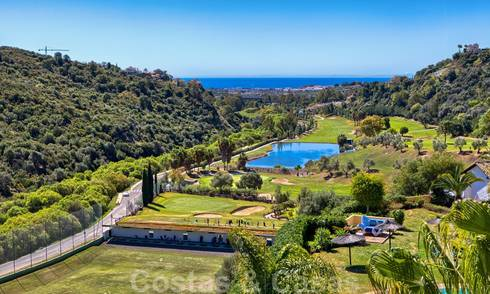 Stunning penthouse apartment in exclusive, gated frontline golf complex with panoramic views in La Quinta, Benahavis - Marbella 24445