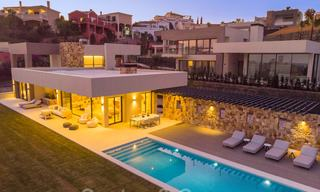 Contemporary modern newly built villas for sale in Nueva Andalucia, Marbella 24482