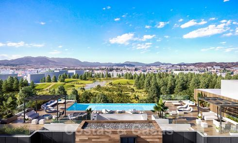Luxury apartments for sale in a new innovative residential development in Malaga centre 24512
