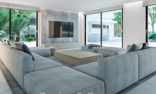 Exclusive, contemporary villa for sale with panoramic sea views, beachside in East Marbella 24589