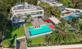 Exclusive, contemporary villa for sale with panoramic sea views, beachside in East Marbella 24592