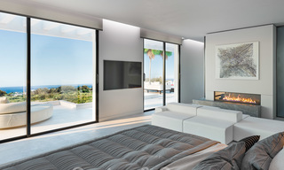 Exclusive, contemporary villa for sale with panoramic sea views, beachside in East Marbella 24603