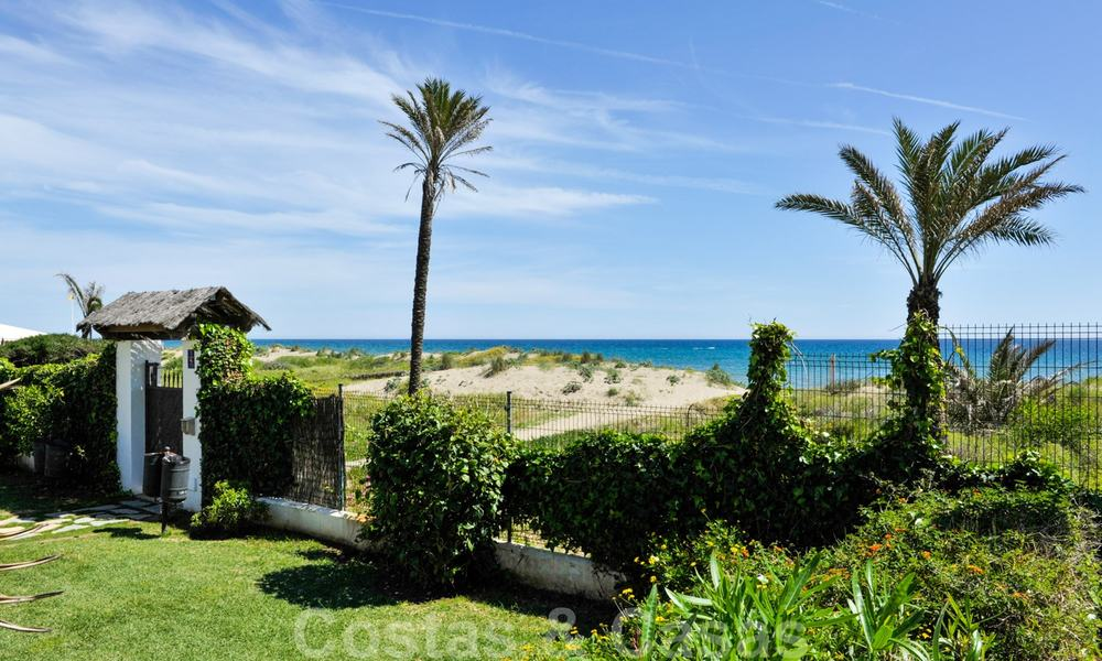 Los Monteros Palm Beach: Spacious luxury apartments and penthouses for sale in this prestigious first line beach and golf complex in La Reserva de Los Monteros in Marbella 24764