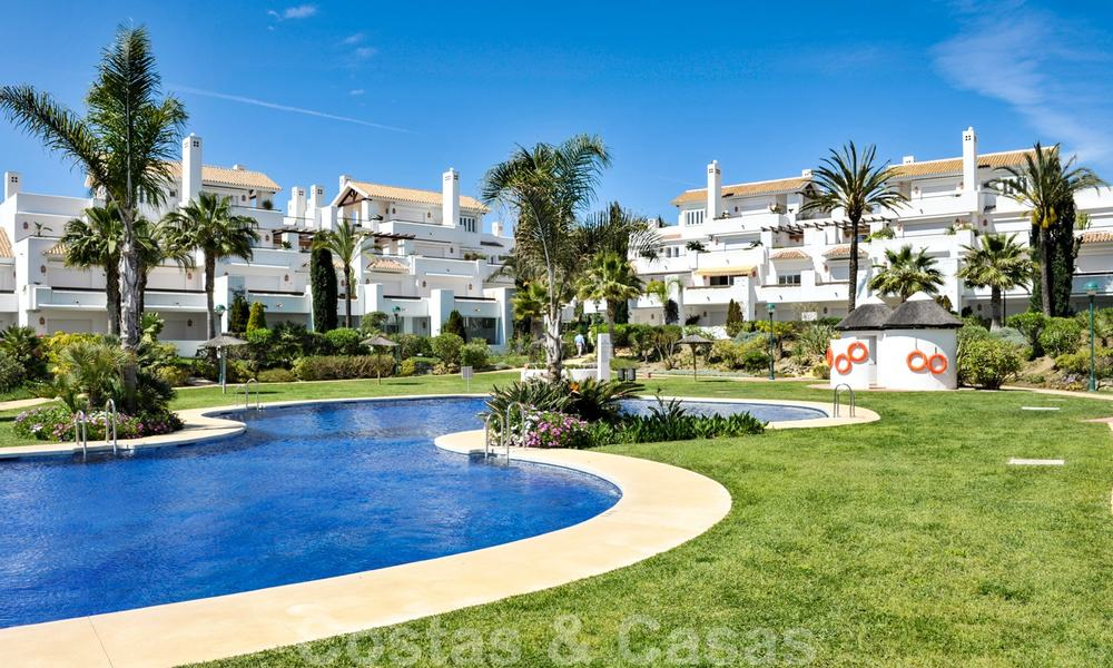 Los Monteros Palm Beach: Spacious luxury apartments and penthouses for sale in this prestigious first line beach and golf complex in La Reserva de Los Monteros in Marbella 24767
