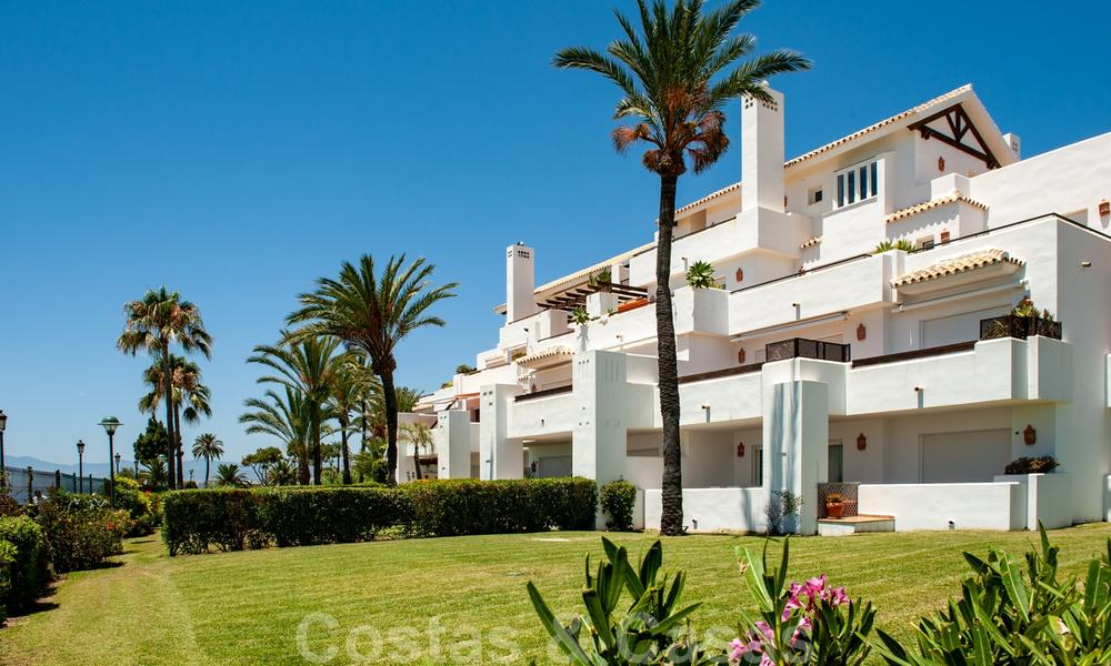 Los Monteros Palm Beach: Spacious luxury apartments and penthouses for sale in this prestigious first line beach and golf complex in La Reserva de Los Monteros in Marbella 26163