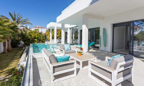 Beautiful modern villa near the beach, move in ready, Marbella East. Price reduction. 24798