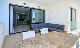 Modern apartment for sale overlooking the golf course in Benahavis - Marbella 24883