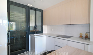 Modern apartment for sale overlooking the golf course in Benahavis - Marbella 24886