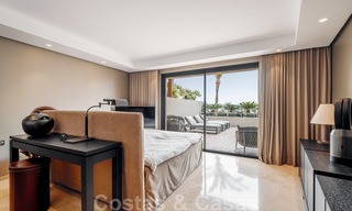 Exclusive modern apartment for sale with a contemporary luxury interior in Sierra Blanca, Golden Mile, Marbella 24965