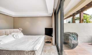 Exclusive modern apartment for sale with a contemporary luxury interior in Sierra Blanca, Golden Mile, Marbella 24966