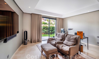Exclusive modern apartment for sale with a contemporary luxury interior in Sierra Blanca, Golden Mile, Marbella 24968