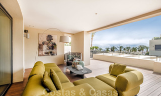 Exclusive modern apartment for sale with a contemporary luxury interior in Sierra Blanca, Golden Mile, Marbella 24977