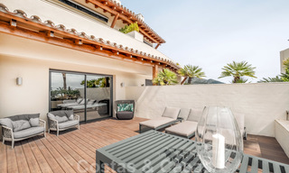 Exclusive modern apartment for sale with a contemporary luxury interior in Sierra Blanca, Golden Mile, Marbella 24979