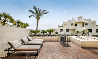 Exclusive modern apartment for sale with a contemporary luxury interior in Sierra Blanca, Golden Mile, Marbella 24980