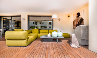Exclusive modern apartment for sale with a contemporary luxury interior in Sierra Blanca, Golden Mile, Marbella 24982