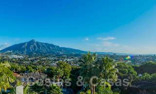 Large luxury villa for sale with stunning panoramic views over the golf valley, the mountains and the Mediterranean Sea in Nueva Andalucia, Marbella 24997