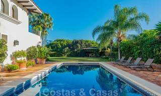 Large luxury villa for sale with stunning panoramic views over the golf valley, the mountains and the Mediterranean Sea in Nueva Andalucia, Marbella 25029