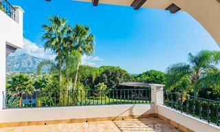 Large luxury villa for sale with stunning panoramic views over the golf valley, the mountains and the Mediterranean Sea in Nueva Andalucia, Marbella 25059