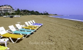 Sea - beach front line luxury apartments for sale, Marbella - Estepona 13762