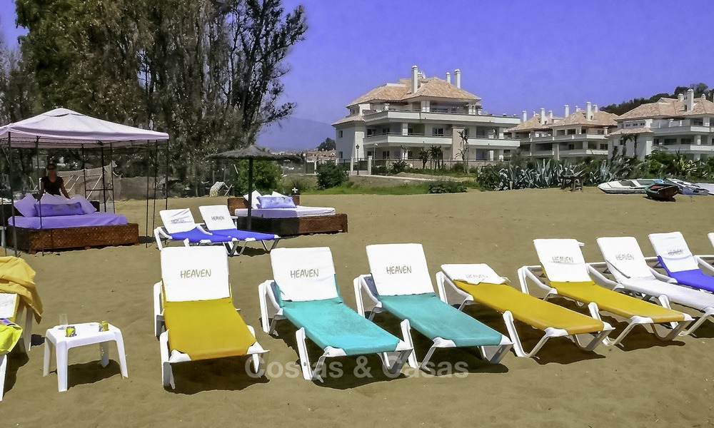 Sea - beach front line luxury apartments for sale, Marbella - Estepona 13758