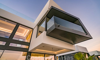 New impressive contemporary luxury villa for sale with stunning golf and sea views in Marbella - Benahavis 25789